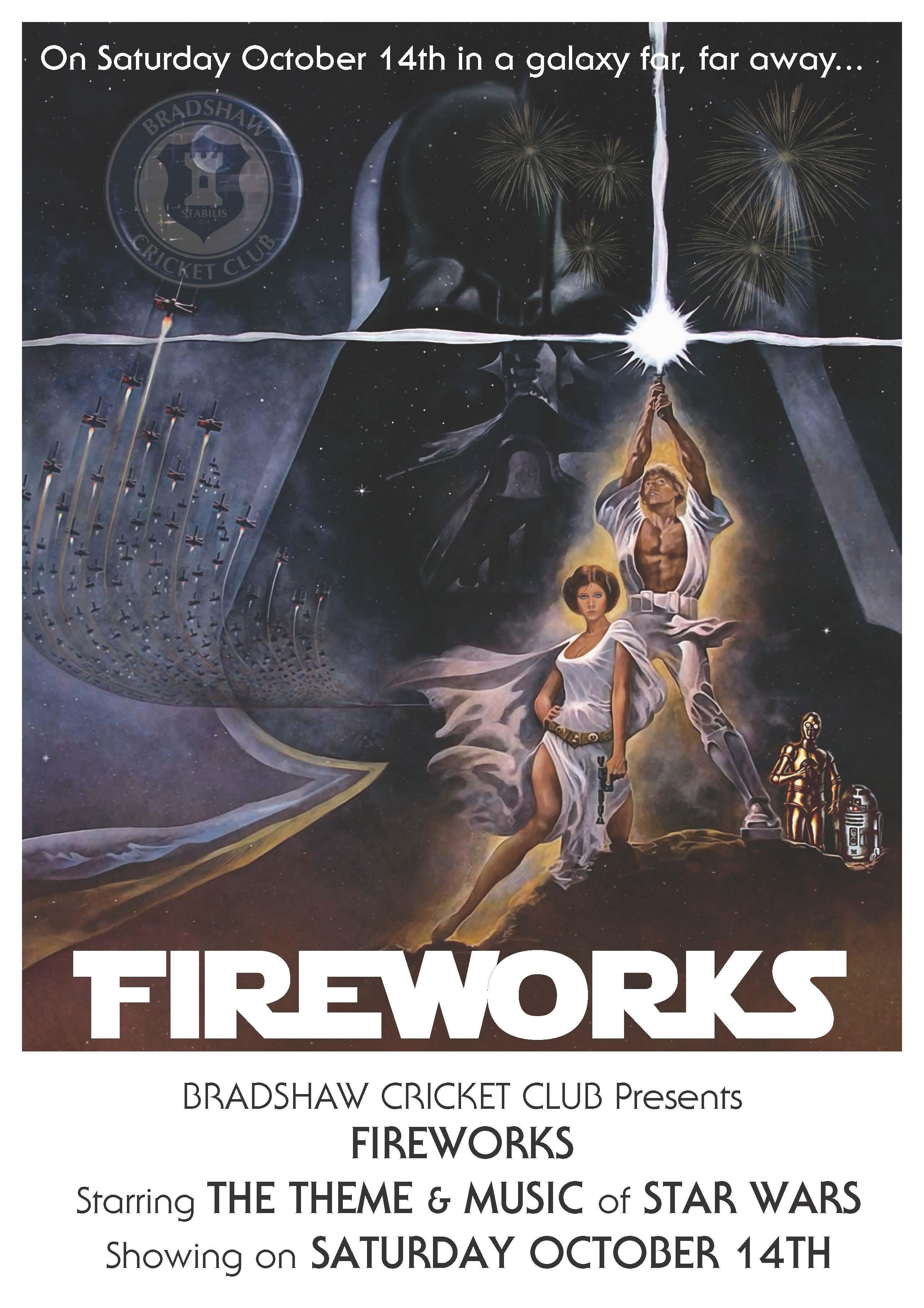 Fireworks Star Wars