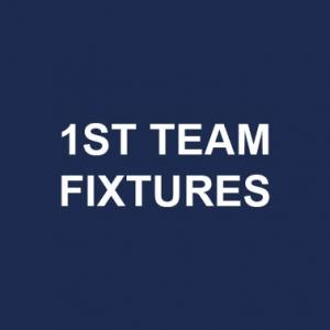 1st team fixtures