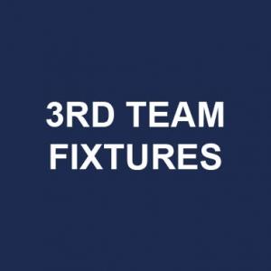 3rd team fixtures