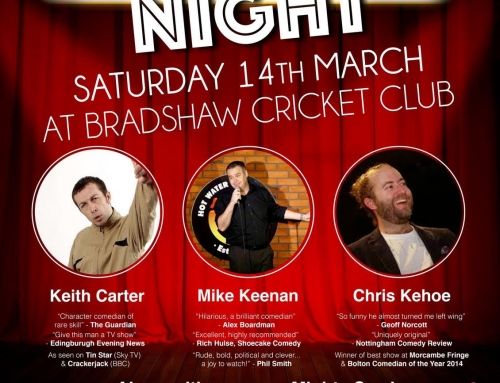 Comedy Night 14th March