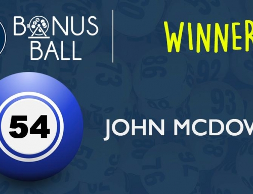Bonus Ball Winner